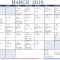 Good and bad days in March 2016