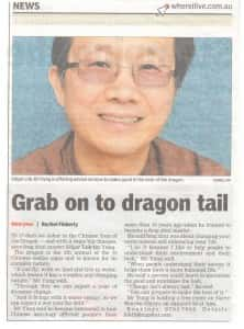Feng Shui Master in Berwick Leader Newspaper