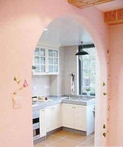 open door kitchen