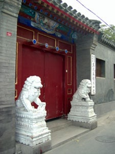 Forms Feng Shui School - Lions protection