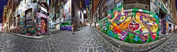 Feng Shui Master - Melbourne-Laneways-iLoveGraffiti