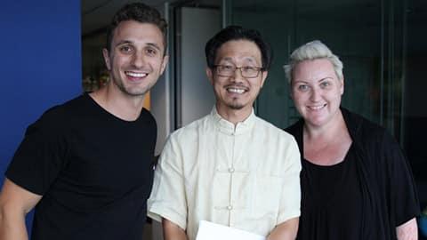 Feng Shui Master, Edgar Lok Tin Yung with Meshel and Tommy - NOVA FM 3rd Feb 2014