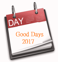 good Days Jan to Dec 2017