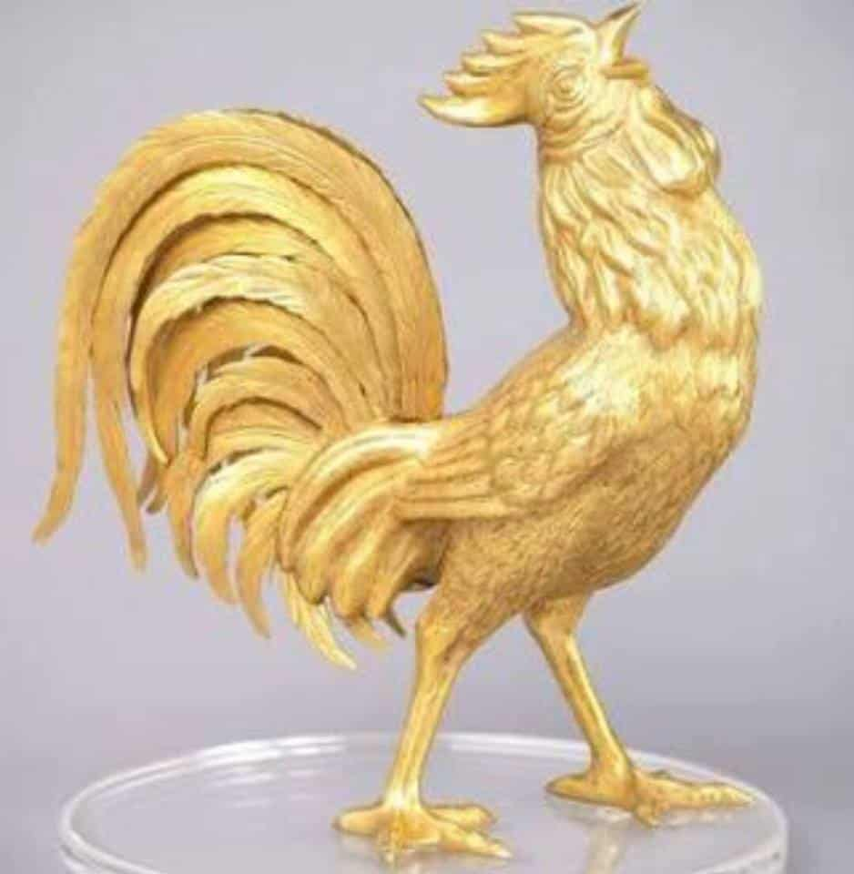 Anilmal sign luck 2017 Yin Fire Rooster