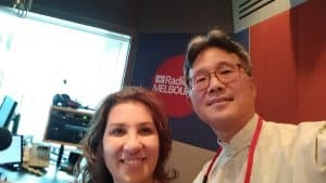 Libbi Gorr, ABC Radio 774 Melbourne Studio live Year of the Pig broadcast Feb 2019.