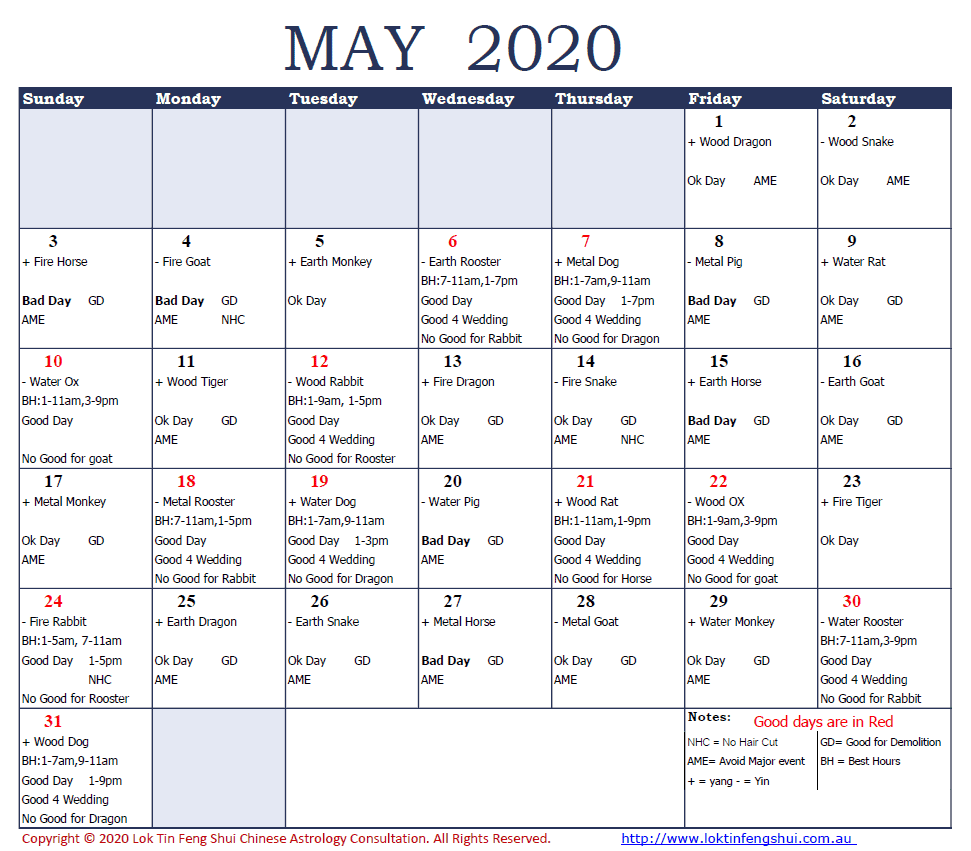Good Bad Dates May 2020