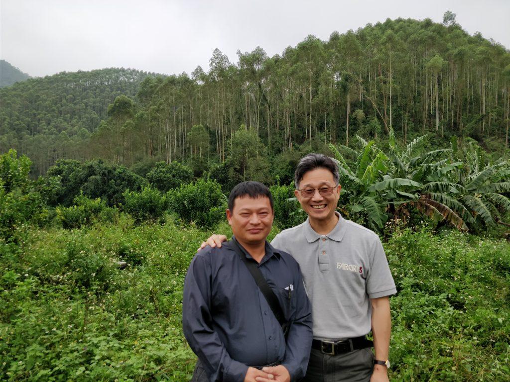 Feng Shui case from Shixiong in China